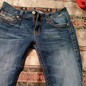 Rock Revival straight Jean